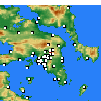 Nearby Forecast Locations - Kifisià - Carta