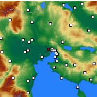 Nearby Forecast Locations - Stavroupoli - Carta