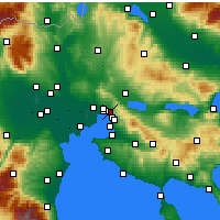 Nearby Forecast Locations - Polichni - Carta