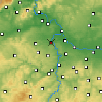 Nearby Forecast Locations - Kralupy nad Vltavou - Carta