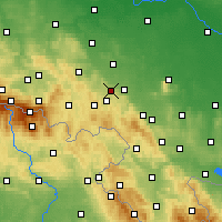 Nearby Forecast Locations - Świebodzice - Carta