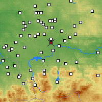 Nearby Forecast Locations - Bieruń - Carta