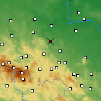Nearby Forecast Locations - Jawor - Carta