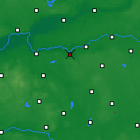 Nearby Forecast Locations - Międzychód - Carta