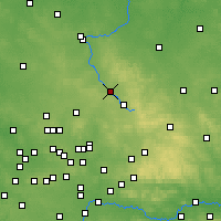 Nearby Forecast Locations - Myszków - Carta