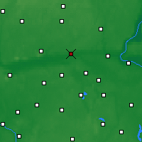 Nearby Forecast Locations - Nakło nad Notecią - Carta