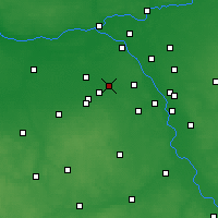 Nearby Forecast Locations - Pruszków - Carta