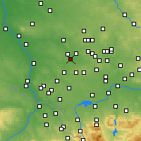 Nearby Forecast Locations - Ruda Śląska - Carta