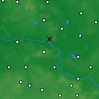 Nearby Forecast Locations - Sulechów - Carta