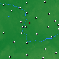 Nearby Forecast Locations - Swarzędz - Carta