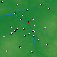 Nearby Forecast Locations - Ząbki - Carta