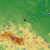 Nearby Forecast Locations - Złotoryja - Carta
