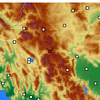 Nearby Forecast Locations - Metsovo - Carta