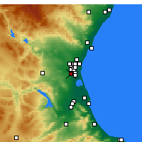 Nearby Forecast Locations - Torrent - Carta