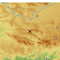Nearby Forecast Locations - Puertollano - Carta