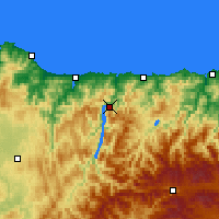 Nearby Forecast Locations - Castrillón - Carta