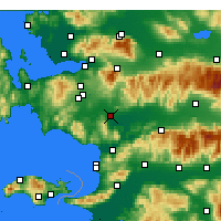 Nearby Forecast Locations - Torbalı - Carta