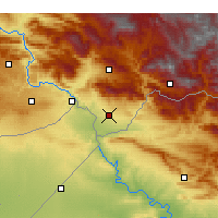 Nearby Forecast Locations - Silopi - Carta