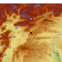 Nearby Forecast Locations - Pazarcık - Carta
