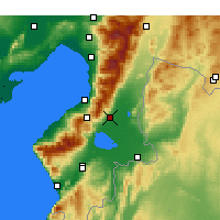 Nearby Forecast Locations - Kırıkhan - Carta