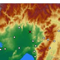 Nearby Forecast Locations - Kadirli - Carta