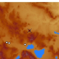 Nearby Forecast Locations - Emirdağ - Carta