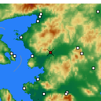 Nearby Forecast Locations - Bergama - Carta