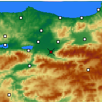 Nearby Forecast Locations - Akyazı - Carta