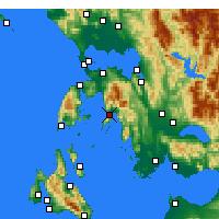 Nearby Forecast Locations - Mytikas - Carta