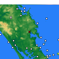 Nearby Forecast Locations - Whangarei - Carta