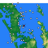 Nearby Forecast Locations - Tiri Tiri Matangi - Carta