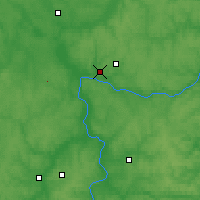 Nearby Forecast Locations - Kaluga - Carta