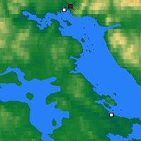 Nearby Forecast Locations - Kandalakša - Carta