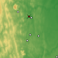 Nearby Forecast Locations - Lesnoj - Carta