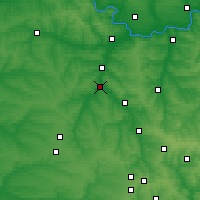 Nearby Forecast Locations - Druzhkivka - Carta