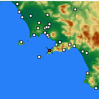 Nearby Forecast Locations - Sorrento - Carta
