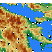 Nearby Forecast Locations - Nemea - Carta
