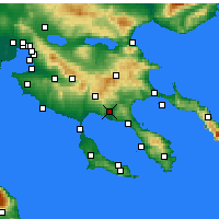 Nearby Forecast Locations - Ormylia - Carta