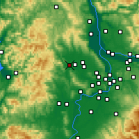 Nearby Forecast Locations - Forest Grove - Carta