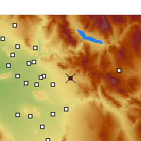 Nearby Forecast Locations - Apache Junction - Carta