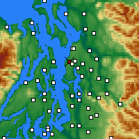 Nearby Forecast Locations - Edmonds - Carta
