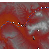 Nearby Forecast Locations - Palisade - Carta