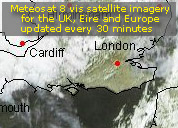 Meteosat 8 - UK & Eire, France, Scandinavia, Germany, Spain, Italy in full resolution